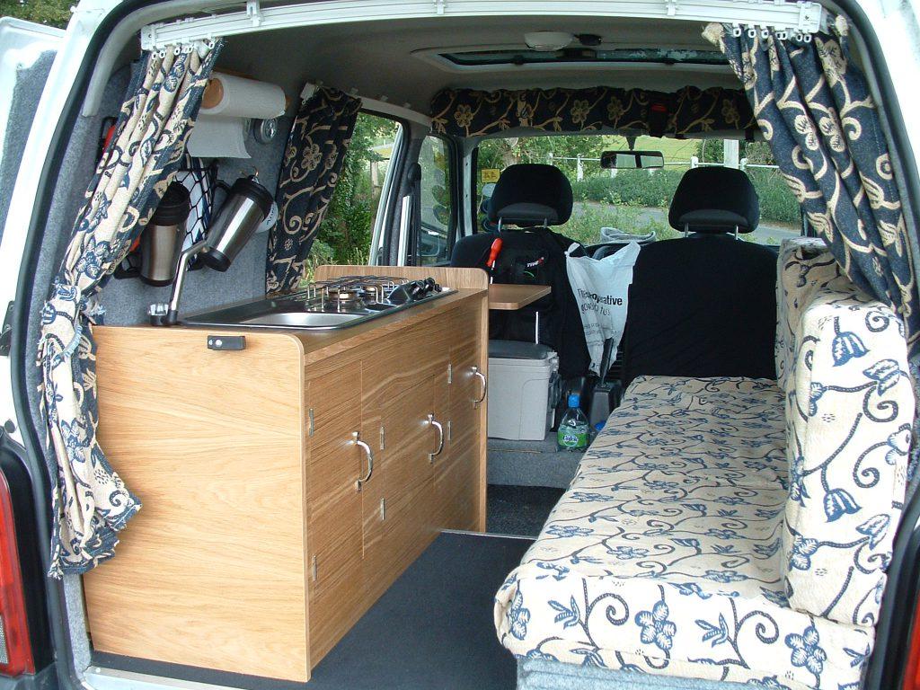 xe van cắm trại